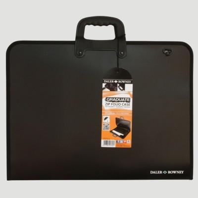 Portfolio con zip e tracolla - 50x70 e 60x80
