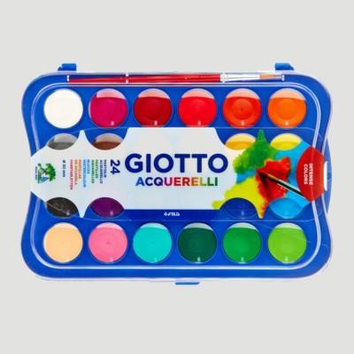 Acquerelli Giotto - 24 Colori e Pennello