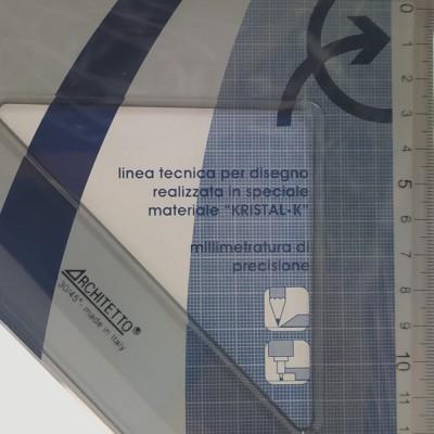 Squadre 45° da Disegno Architetto - 20, 30, 35cm