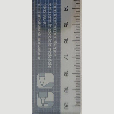 Riga di precisione Architetto - 20, 30, 50, 60cm