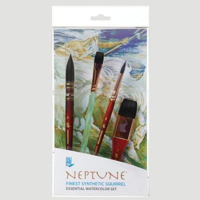 Set Professional Neptune - Pelo Scoiattolo Sintetico