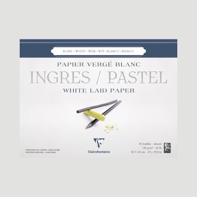 Blocco Ingres per Disegno e Pastello - Fogli Bianchi Clairefontaine
