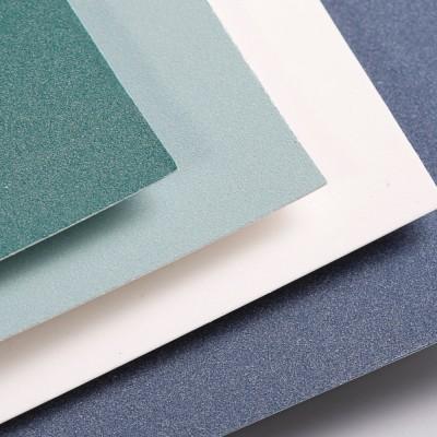 Blocco Pastelmat Clairefontaine - 12 fogli da 360gr Verde chiaro, Verde scuro, Blu, Bianco