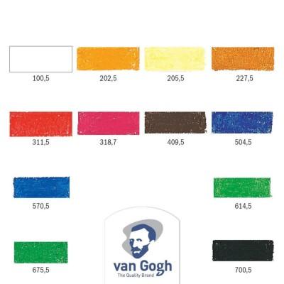 Confezione Pastelli ad Olio Van Gogh