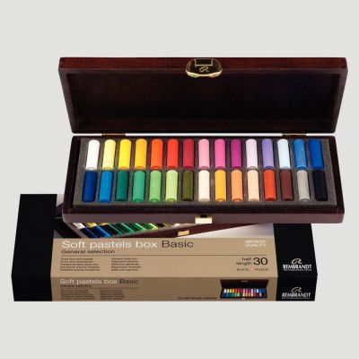 Soft Pastel Rembrandt - Set in legno 30 Pastelli Morbidi
