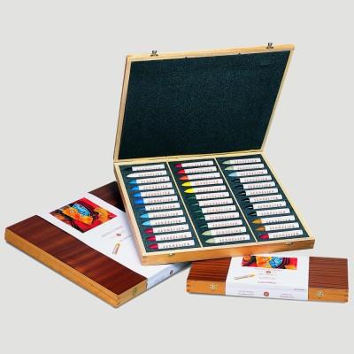 Pastelli ad Olio Sennelier - Cassetta in Legno 36 Colori