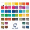 Acquerello Van Gogh - Confezione in Metallo 48 colori