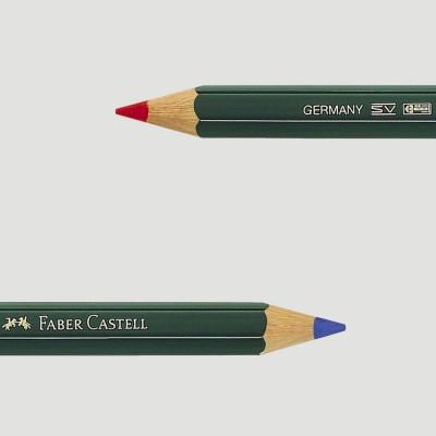 Matita Bicolore Rossa e Blu - Jumbo Grip Faber Castell