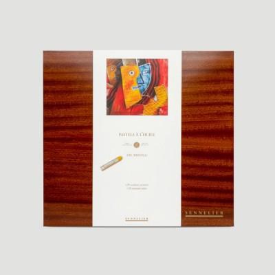 Pastelli ad Olio Sennelier - Cassetta in Legno 120 Colori