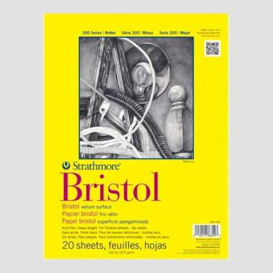 Blocco di carta per Disegno - Strathmore Bristol Grana Velluto