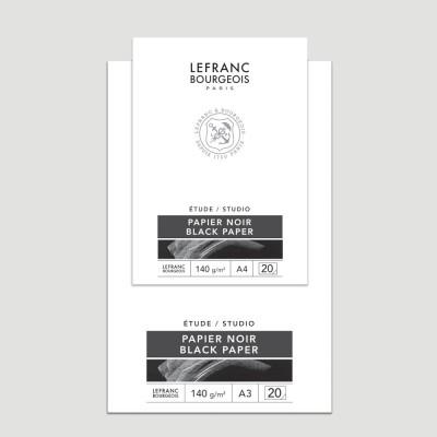 Blocco Studio Nero - Carta LeFranc Bourgeois