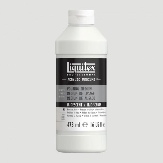Liquitex Medium Pouring - IRIDESCENTE per Fluid Painting