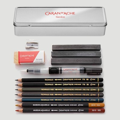 Set Grafite Acquerellabile RGB - nel Box in Metallo Caran d'Ache