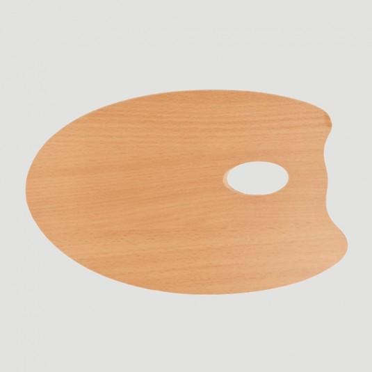 Tavolozza Ovale - Legno Massello 20x30cm