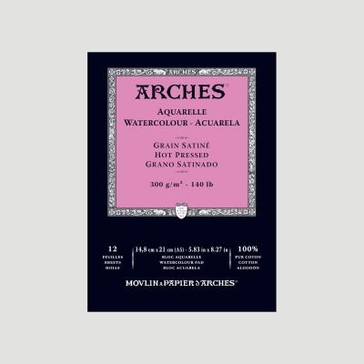 Album Arches 300gr - Grana Satinata collato 1 lato