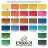 Confezione Acquerello Rembrandt - 24 mezzi Godet e Pennello in Martora