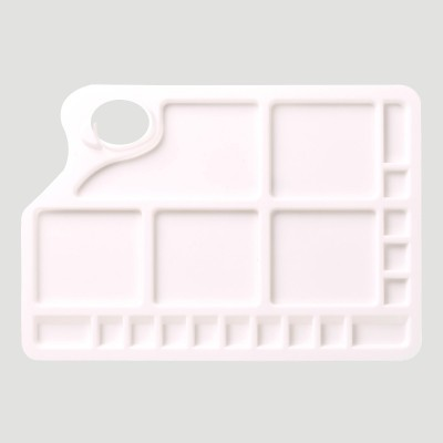Tavolozza di Plastica Rettangolare grande - Liquitex Bascis