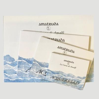 Blocco di carta Amatruda per Acquerello - Grana Liscia 200gr