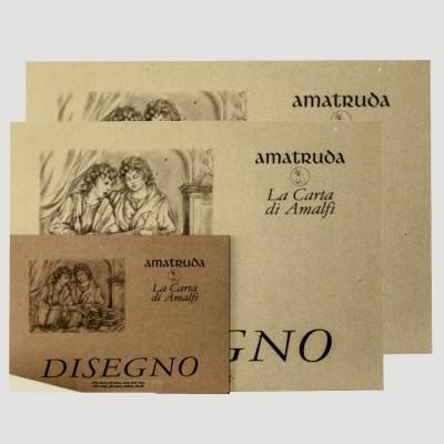 Blocco di carta Amatruda per Disegno - 340gr Grana Liscia