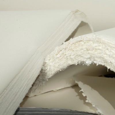 Foglio 100% Cotone di Carta Amatruda - 50x70cm grana liscia 200gr