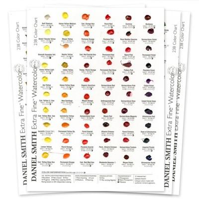 Dot Card 238 colori Acquerelli Daniel Smith