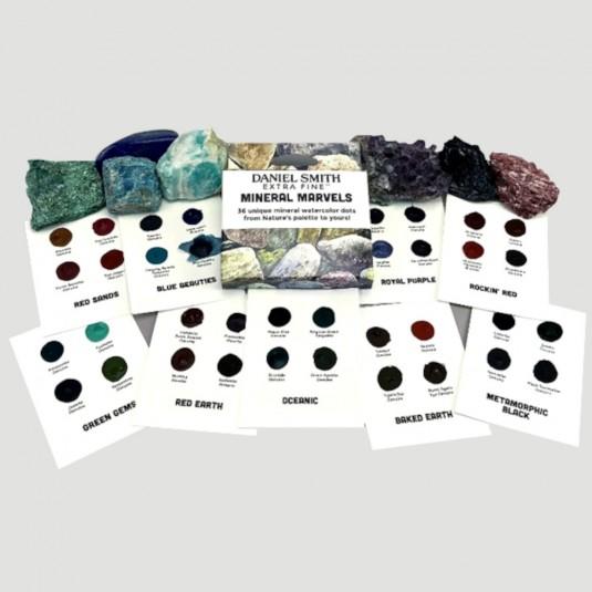Dot Card colori Minerali acquerelli Daniel Smith
