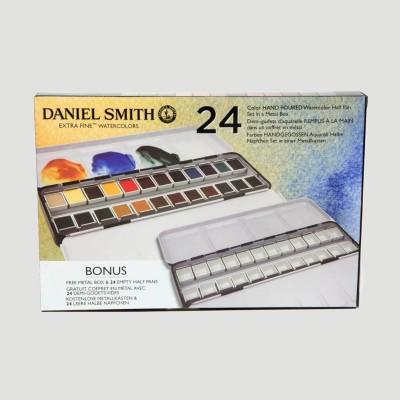 Confezione metallo da 24 acquerelli Daniel Smith - SECONDA CONFEZIONE IN OMAGGIO!