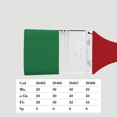 Pennellessa Borciani e Bonazzi - Sintetica Verde Serie 404