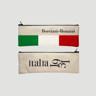 Astuccio in Tessuto Borciani e Bonazzi - Beige Opaco