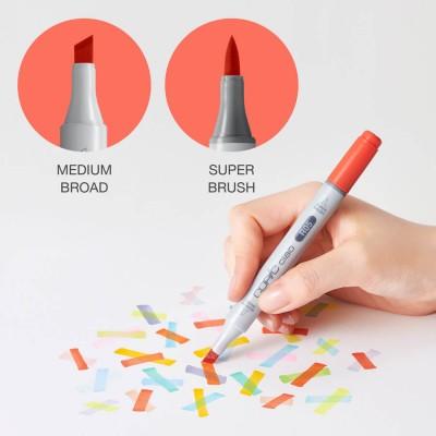 Marker Copic Ciao - Pennarello grafico doppia punta Scalpello e Brush