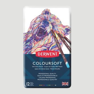 Confezione Matite Colorate Derwent Coloursoft