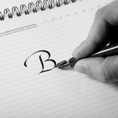 Pochette da 3 Pennini per Calligrafia - Brause