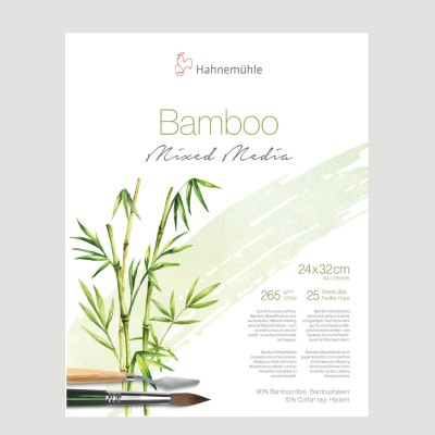 Blocco Bamboo Mixed Media - Hahnemuhle