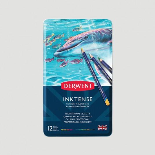 Set Matite Colorate Derwent Inktense, matite acquerellabili