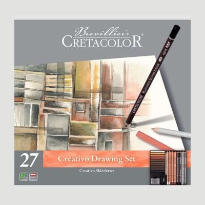 Set Creativo Cretacolor, Set per il Disegno