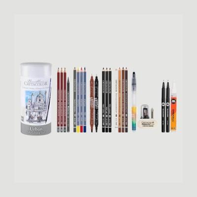Set Urban Sketching - Cretacolor