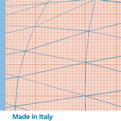 Blocco carta millimetrata Fabriano