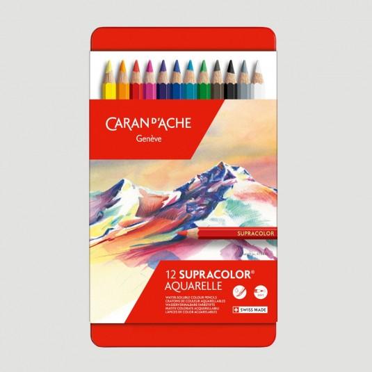 Confezione Matite Colorate Caran d'Ache Supracolor