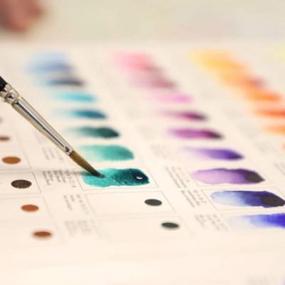 Dot Card Acquerelli Winsor&Newton Professional Water Colour