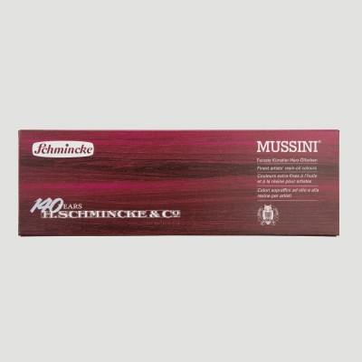 Confezione Olio Mussini Schmincke - Edizione Speciale 12 tubetti da 15ml