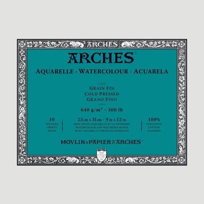 Blocco Arches - Grana Fine 640gr