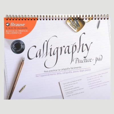 Blocco Calligrafia per Principianti - Brause
