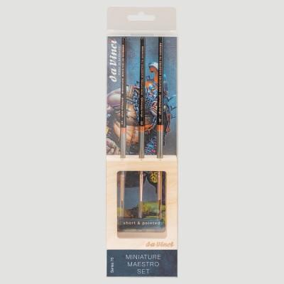 Set Miniature Maestro Serie 76 - Da Vinci