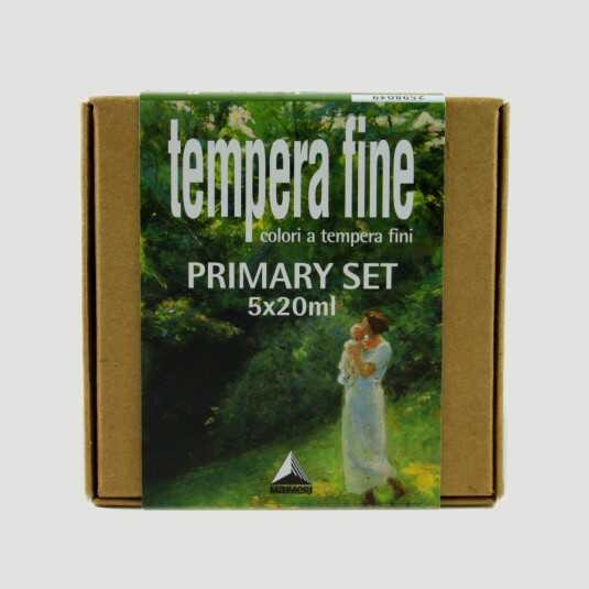 Primary Set Tempera Fine Maimeri