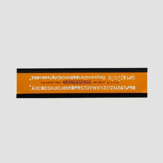 Normografo Professionale 4mm - DIN 1451 tipo H