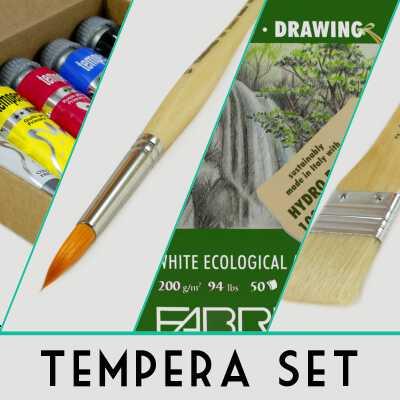 Tempera Set