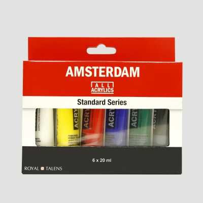Set Acrilico Amsterdam 20ml