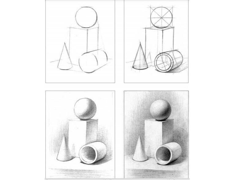 Esercizio per imparare a disegnare a matita