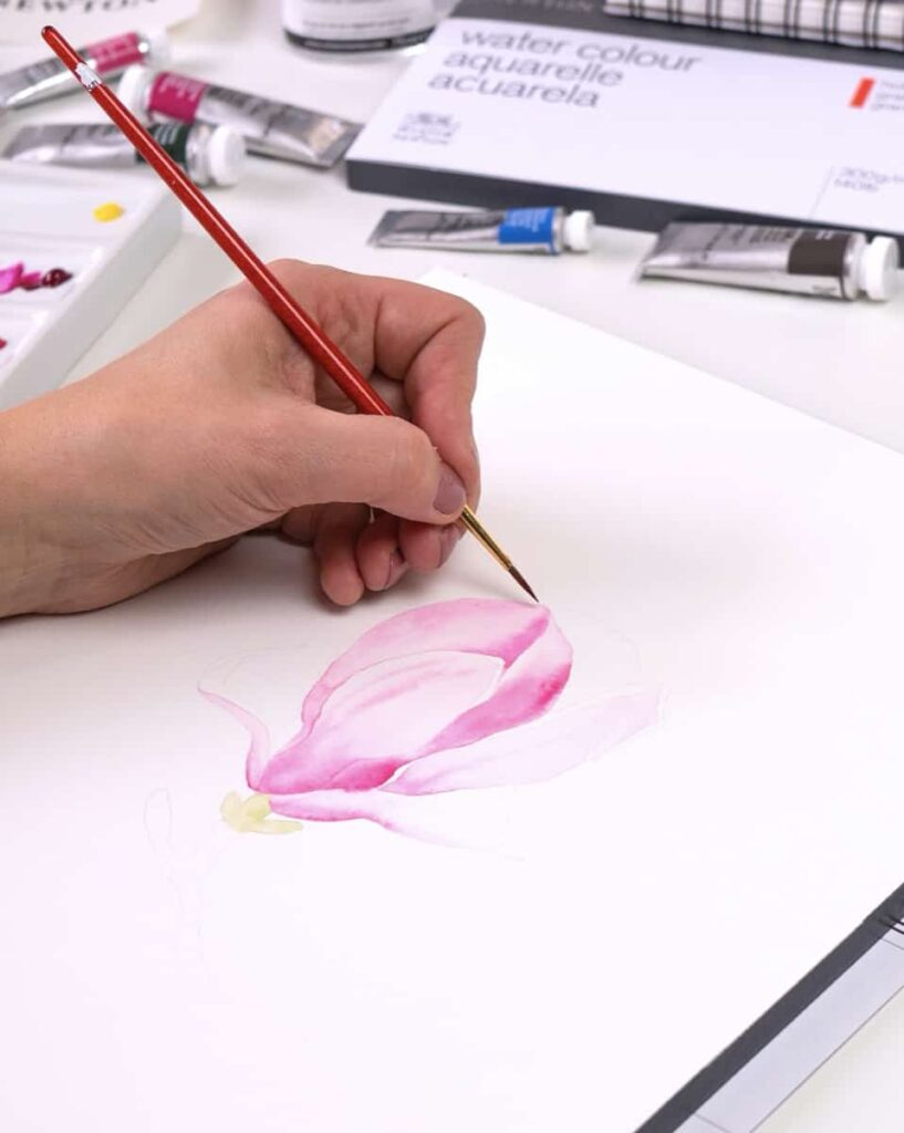 I dettagli dei petali
