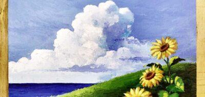 Come dipingere un paesaggio con gli acrilici LeFranc